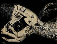 ARTFINDER: capture by Loui Jover - continuation of a theme of large works..