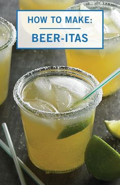 Take taco Tuesday to the next level with the refreshing taste of these Beer-Itas from Inspired Gathering. This adult-only cocktail recipe is sure to be a crowd-pleaser at any entertaining event. Click here to see how you can get the party started with this easy drink.