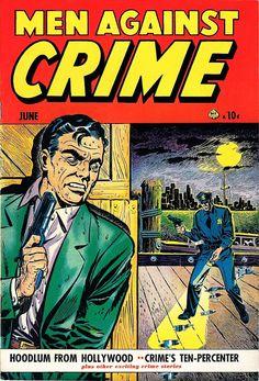 N°5 Crime Comics, Pulp Fiction Comics, Comic Book Covers, Comic Books Art, Comic Art, Coke, Golden Age, Detective, Pop Art
