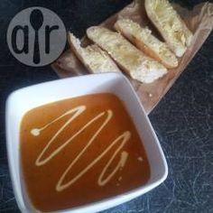 Creamy tomato soup @ allrecipes.co.uk
