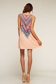 Tribal Aztec Print Dress | Gypsy Outfitters - Boho Luxe Boutique