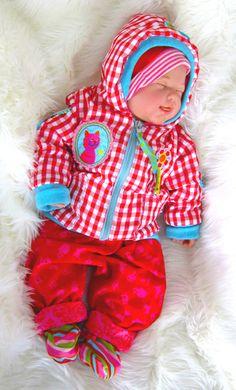 Blouson CARLI, pattern by farbenmix.de #sewing #baby #nähen #babykleidung
