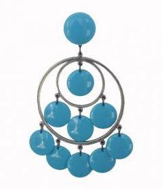 #Flamenco earrings #Kristina Poholarz  http://cincuentopia.com