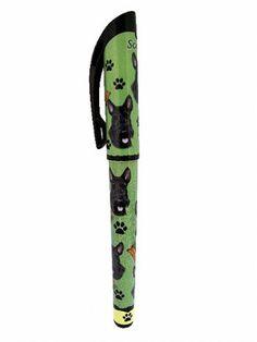 Scottie Gel Pen Gel Pen Art, Gel Pens, Welsh Terrier, Scottish Terriers, Jack Russell Mix, Dog Wrap, Cute Pens, Westies, Scottie Dogs