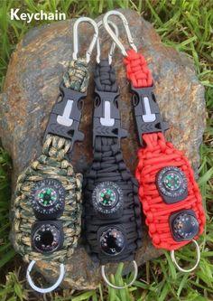 Llavero Militar de Supervivencia con cuerda por SurvivalInExtremis
