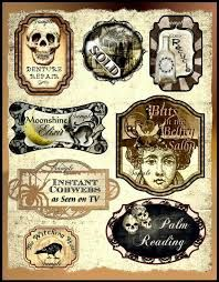 halloween labels - Google Search