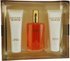 Caesars By Caesar's World For Women Cologne Spray 3.3 Oz & Body Cream 3.3 Oz & Body Wash 3.3 Oz by Caesars. $15.45. This item is not for sale in Catalina Island. Packaging for this product may vary from that shown in the image above. CAESARS by Caesar's World for Women COLOGNE SPRAY 3.3 OZ & BODY CREAM 3.3 OZ & BODY WASH 3.3 OZ orange flower, rose, musk and sandalwood.