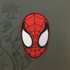 Spider-Man Superhero Punk Patches Individuality Hat patches Embroidered Iron On Patches sew on patches