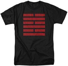 Amazon.com: G.I. Joe Snake Eyes Symbol Unisex Adult T Shirt, Black, Small: Clothing Eye Symbol, Snake Eyes, Gi Joe, Branded T Shirts, Fashion Brands, Graphic Tees, Shirt Designs, Man Shop, Unisex