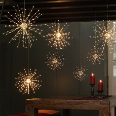 This dazzling Fireworks Wire String Light fixture has a total of 150 top-quality LED lights. Every wire branch has 4 to 5 micro LED lights that shine brighter and more brilliant than any traditional string lights. The elegant wire branches bend easily to form any shape you want. With a little imagination and creativity, these fireworks lights can be the perfect decorative touch for your home or yard. Perfect decor for the Forth of July, New Years Eve, Weddings, Parties, etc. Waterproof Lights: B