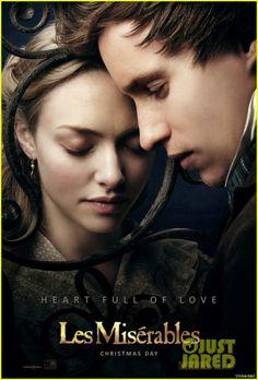 Amanda Seyfried & Eddie Redmayne: New 'Les Miserables' Poster!