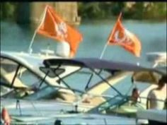 The Vol Navy - A Tennessee Tradition. This is tailgating!  #fanatics #UltimateTailgating GO Vols!!!