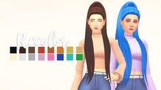 Sims 4 Mm Cc, Sims Four, The Sims, Zoella Hair, Pelo Sims, Sims4 Clothes, Hair Pack, New Mods, Sims 4 Cc Finds