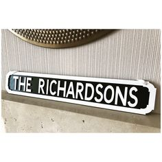 Street sign vintage wooden personalised - hand painted  by By Epiphany Designs NI