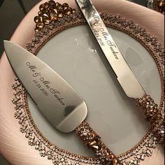 wedding glasses and cake server set plate and forks wedding bearer pillow Champagne glasses cake cutter set white and silver Wedding set Wedding Book, Wedding Sets, Gold Wedding, Wedding Champagne, Wedding Reception, Wedding Flutes, Wedding Glasses, Champagne Flutes, Toasting Flutes