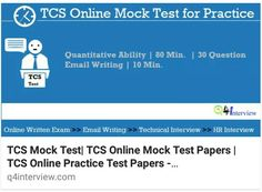 Virtusa Online mock test , placement papers with solutions