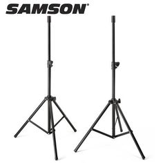 Samson LS2 Pair of Speaker Stands by Samson. $59.00. Pair of Heavy-duty telescoping tripod stands, adjustable to 6 feet in height. Features: Road-ready steel construction; 13/8 inch diameter adapter fits virtually all PA speakers; 55 lb/25 kg handling capacity (per stand).