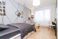 Izba s designovým nábytkom Bed, Furniture, Design, Home Decor, Home Furnishings, Interior Design, Home Interiors, Decoration Home, Beds