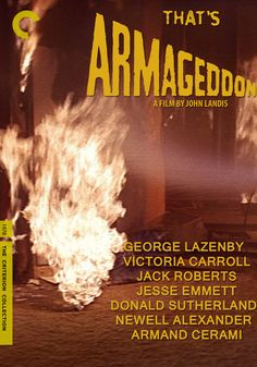 """totallyblended:    That's Armageddon! (1978) - From """"The Kentucky Fried Movie (1977)""""  (http://fakecriterions.tumblr.com/#)"""