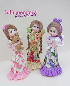 polymer clay: make punjabi outfit dolls