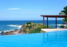 Poolside at Four Seasons Punta Mita, Where I will be going on Tuesday :)