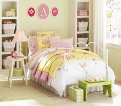 love rod iron beds and the lil flower sidetable :D this combo of furniture would be cute in emmy's room :D