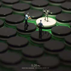 Miniature photography Invincible