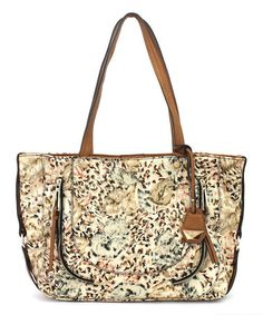 Another great find on #zulily! Island Cheetah Kendall Tote #zulilyfinds