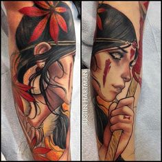 TattooSnob.com @tattoosnob Princess Mononoke...Instagram photo | Websta (Webstagram)