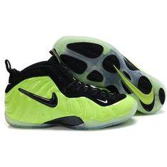 meet 721f0 e1064 Nike Air Foamposite Pro Electric Green Black Air Jordan Shoes, Kobe Shoes,  Penny Hardaway