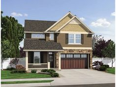 Build your ideal home with this Craftsman house plan with 3 bedrooms(s), 2 bathroom(s), 2 story, and 2392 total square feet from Eplans exclusive assortment of house plans.