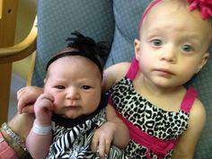 Sisters..Harper and Lola