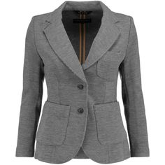 Rag & bone Bromley merino wool blazer (20.365 RUB) ❤ liked on Polyvore featuring outerwear, jackets, blazers, anthracite, rag bone jacket, slim fit blazer, lined jacket, tailored blazer and merino wool jacket