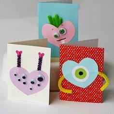 Monster Valentines - Crafts by Amanda