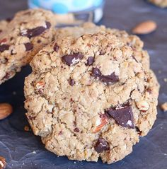 Brown Butter Kitchen Sink #Cookies, loaded with chocolate chunks, coconut, oats, almonds, spices and nutty, fragrant browned butter. Brown Butter, Original Recipe, Almonds, Kitchen Sink, Sweet Dreams, Peanut Butter, Spices, Coconut, Posts