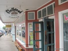 Flatbread Company in Paia, Maui - this was an amazing organic pizza cafe.  We ended up  eating there several times.