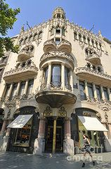 Barcelona Art - Barcelona Spain - beautiful building by Matthias Hauser