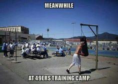 49ers training camp
