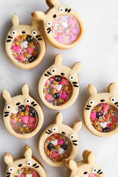 Constellation Inspiration: Playing with Isomalt + Totoro Sprinkle Cookie Sprinkle Cookies, Sugar Cookies, Baby Cookies, Heart Cookies, Valentine Cookies, Easter Cookies, Birthday Cookies, Christmas Cookies, Totoro