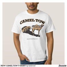 NEW! CAMEL TOW T-SHIRT! TEE SHIRT sanddiggers