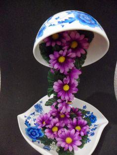 1000 images about flores con moldes goma eva on pinterest mesas watches and navidad - Flores sencillas de goma eva ...