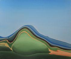 "Saatchi Art Artist: Nina Beslic; Acrylic 2014 Painting ""Forgotten Places 01, 2011"""