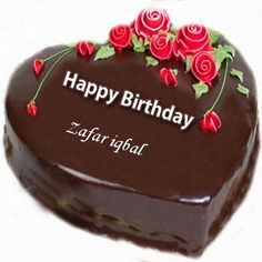 Write Name on Happy Birthday Cake and Send on Whatsapp