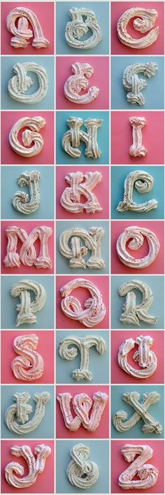 3 dimensional merengue font – # … – Pastry World Cake Decorating Techniques, Cake Decorating Tutorials, Cookie Decorating, Decorating Ideas, Cupcakes Decorating, Cake Icing, Fondant Cakes, Cupcake Cakes, Fondant Baby