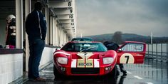 Here's How You Test A Monstrous Ford GT40 Before It Races At Goodwood - Petrolicious