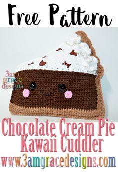 Chocolate Cream Pie Kawaii Cuddler