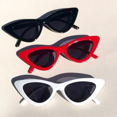 2f7007d7a2 Retro cat eye sunglasses ~ available in red