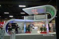 17×17 double deck exhibit design las vegas #tradeshow #exhibit