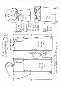 29 best Ideas sewing patterns coat how to make Girl Dress Patterns, Coat Patterns, Doll Clothes Patterns, Sewing Patterns Free, Sewing Clothes, Clothing Patterns, Skirt Patterns, Blouse Patterns, Costura Vintage