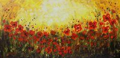 "Saatchi Art Artist areti ampi; Painting, ""Always spring comes"" #art"